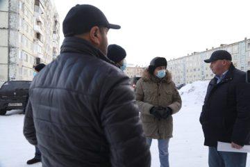 В Норильске жители двух домов жалуются на частые отключения воды и тепла