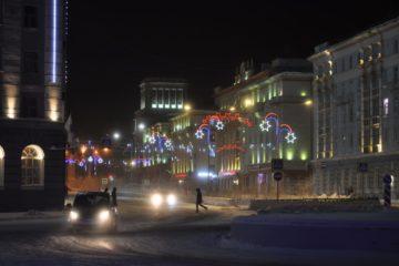 В Норильске наступила полярная ночь, но это не точно