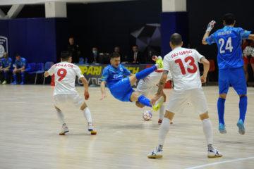 МФК «Норильский никель» вышел на первый матч на новой домашней площадке