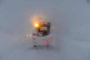 Сложные метеоусловия в Норильске сказались на работе транспортников