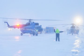 В «Норильск Авиа» капитальный ремонт прошли два вертолета