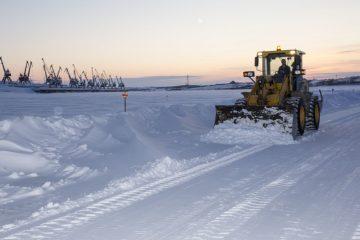 На Таймыре открыли ледовые переправы