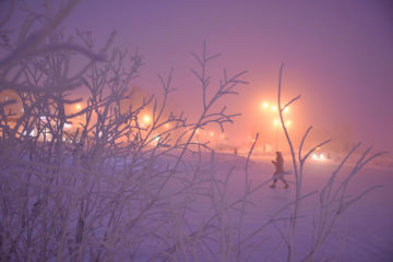 В Норильске обещают 50-градусные морозы