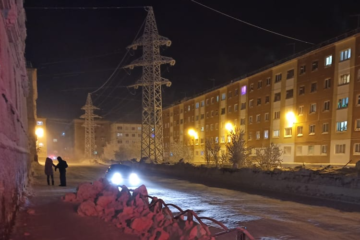 В Норильске открыли для проезда участок дороги по улице Кирова