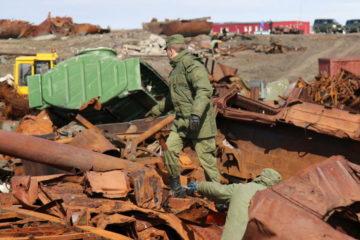 Военные экологи уберут на Таймыре более 600 тонн металлолома