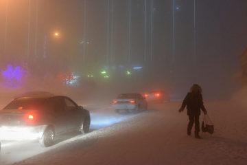 В Норильске отменили штормовое предупреждение по очень сильному морозу