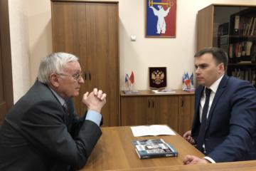 Дмитрий Карасев встретился с норильским землячеством в Красноярске