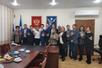 Норильчане поделились с дудинцами опытом работы молодежного парламента