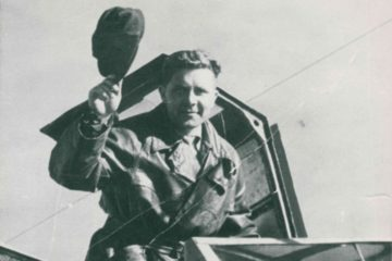 Пилот Норильского авиаотряда Степан Веребрюсов похоронен в Германии