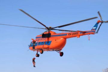 В краевом лесопожарном центре провели воздушную тренировку