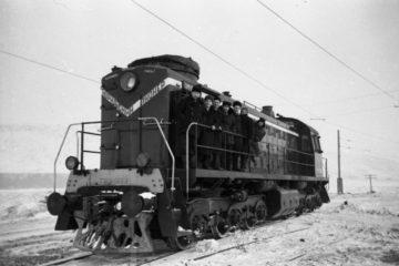 Первый тепловоз железнодорожники назвали «Норильским пионером»