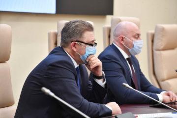 В Норильске встретились министр промышленности края и руководитель Заполярного филиала «Норникеля»