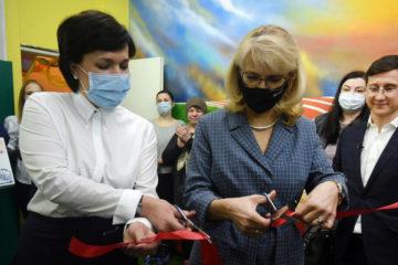 В центре «Олимп» при поддержке «Норникеля» открылся новый спортивный зал