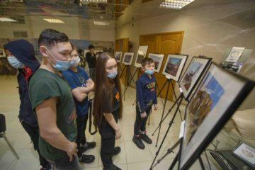 На Таймыре открыли фотовыставку о Попигайском метеоритном кратере