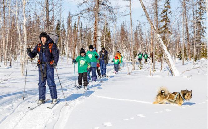 «Экологический патруль» вывел школьников Норильска из привычной городской среды