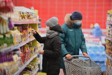 В России выросли цены на продукты питания
