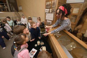 Таймырский музей приглашает детей на занятие «Сундук с сокровищами»