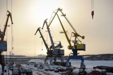 На Таймыре выгрузили технику и оборудование для строительства угольного кластера