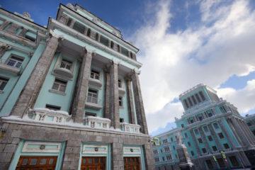 Специалисты обследовали перекрытия исторического здания на Ленинском, 1