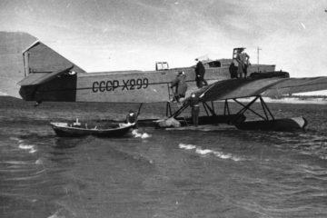 Первые аэродромы Норильска были водными