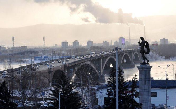 Красноярску присвоили звание «Город трудовой доблести»
