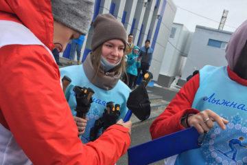 В Норильске прошли соревнования по скандинавской ходьбе