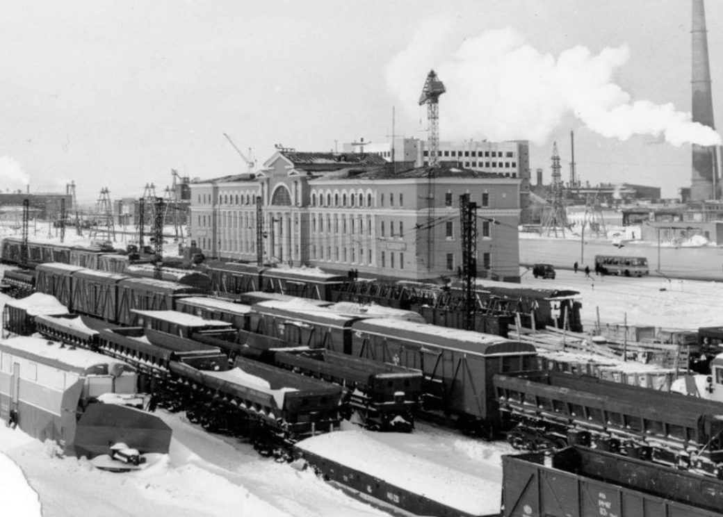 Норильский вокзал построили для поездов дальнего следования