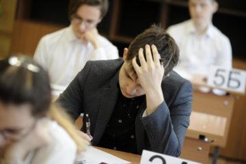 В Норильске выпускники сдают ЕГЭ по русскому