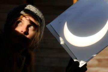 Если небо прояснится, норильчане увидят редкое затмение Солнца