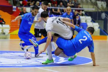 МФК «Норильский никель» уступил в третьем матче полуфинала Суперлиги