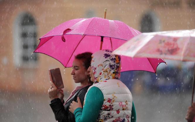 Прогнозы синоптиков о засушливом начале лета в Норильске не сбылись