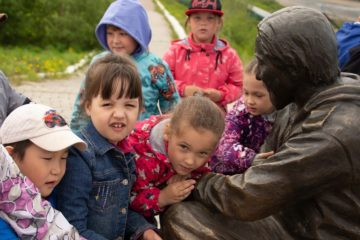 Таймырские дети отпраздновали День рыбака с краеведческим музеем