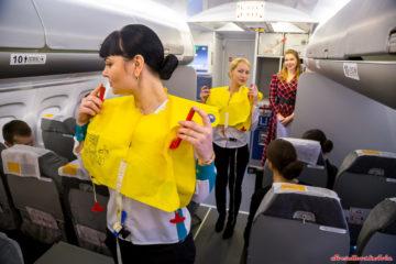 Пассажирка из Норильска пыталась пронести в самолет ранее украденный спасжилет