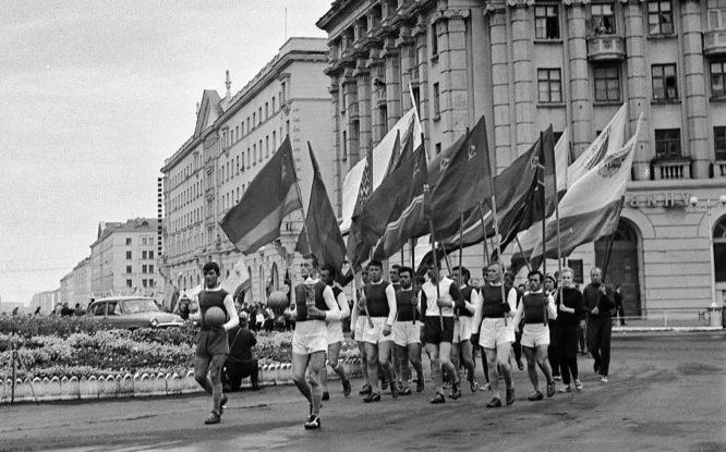 Первый в Норильске спортивный клуб организовали в 1935 году