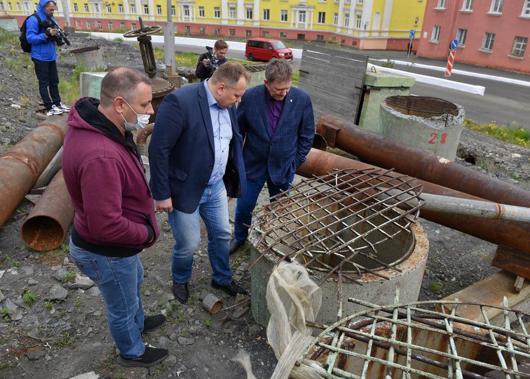 В Норильске отремонтируют 12,5 километра изношенных коллекторов