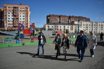 В Норильске комиссия закончила приемку дворов