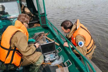 Ученые оценят состояние воды и кормовой базы для рыб в озере Пясино