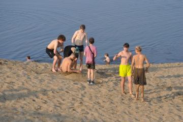 В Норильске обустраивают пляж на лыжной базе «Оль-Гуль»