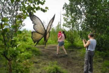 В Норильске появился парк арт-объектов