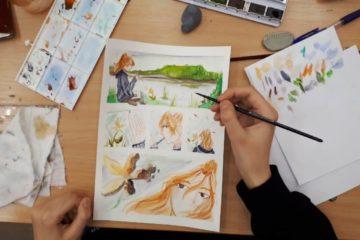 Подростки Норильска могут научиться создавать комиксы