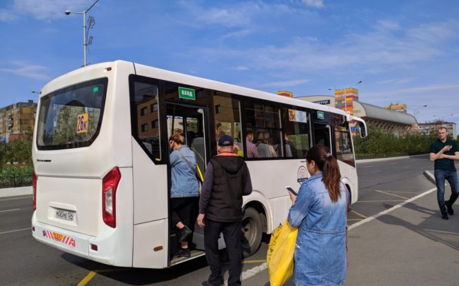 В Норильске стартует тест-драйв проекта цифровизации городского транспорта