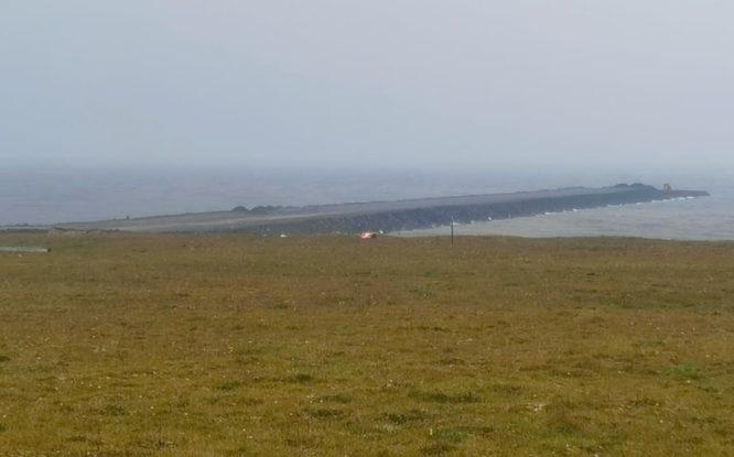 На Таймыре начали отсыпать дамбу для строительства морского порта «Енисей»