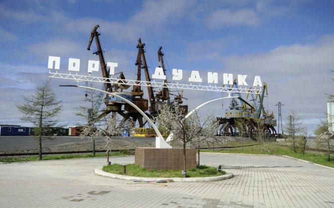 В Дудинском морском порту запустили локальные очистные сооружения