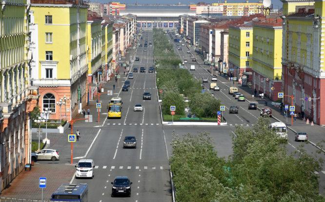 Норильск назвали одной из трех арктических столиц России