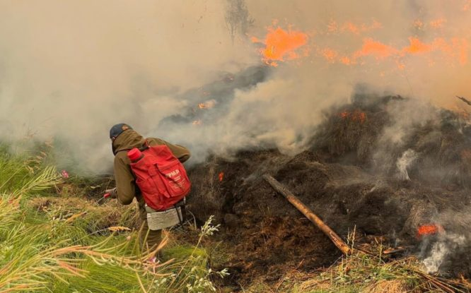 Таймырцы передали пожарным Якутии 50 профессиональных респираторов