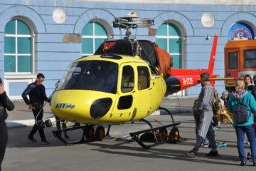 В центре Норильска открыли выставку спасательной техники