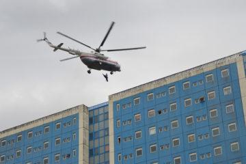 Масштабные учения МЧС продолжились в оганерской больнице