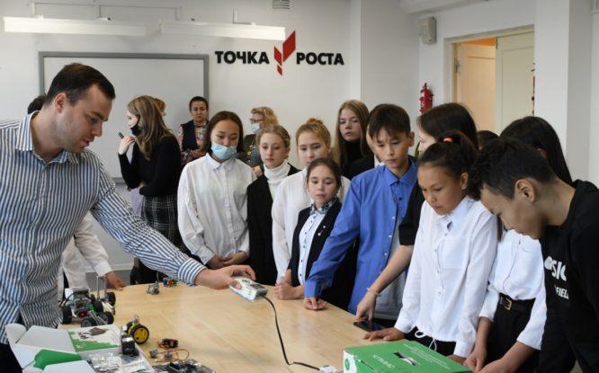 В дудинской школе открылась очередная «Точка роста»