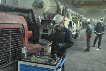 На руднике «Скалистый» построили современную ремонтную базу