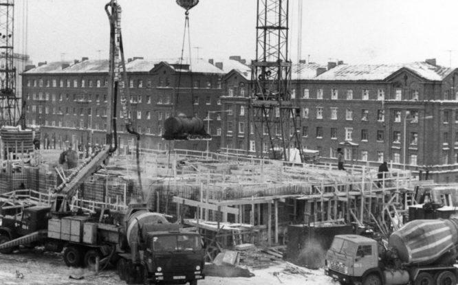 Норильское градостроительство достигло исторического максимума в 1987-м